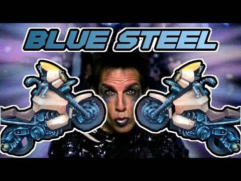 Paint Really Really, Really, Ridiculously Good Looking BLUE STEEL - Kujolander [Tutorial]