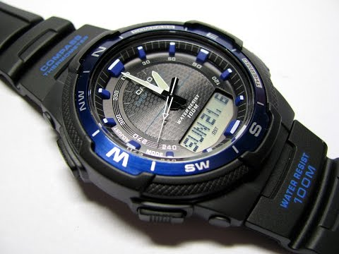 Casio SGW-500H  Analog Digital Compass Thermometer Multi Function Watch