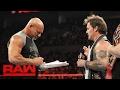 Goldberg Accepts Brock Lesnars WrestleMania Challenge Raw Feb 6 2017