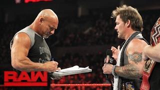 Goldberg accepts Brock Lesnar