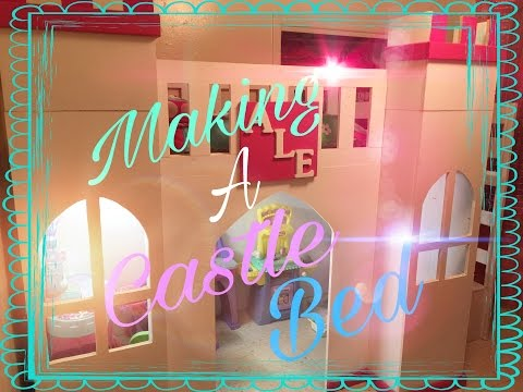Making A Castle Bed Play Area