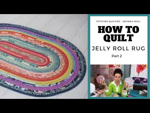 How to make a Jelly Roll Rug Part One