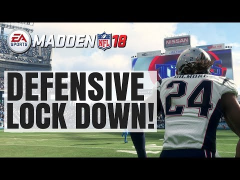 Madden 18 Shutdown Defensive Tip