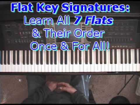 Flat Key Signatures: Learn All 7 Flats & Their Order Once & For All