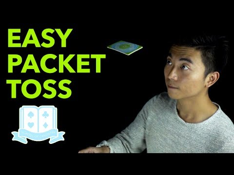 Cardistry for Beginners: Aerials & Drops - Easy Packet Toss Tutorial