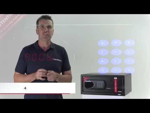 HOW TO INSTALL SANDLEFORD HOTEL SAFE