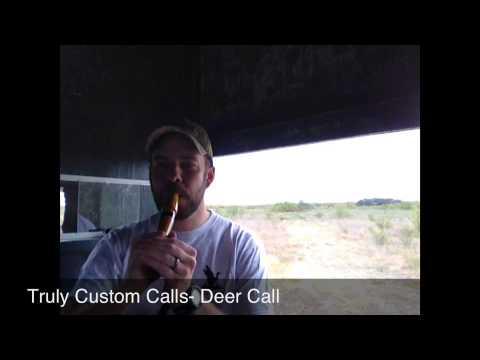Truly Custom Calls Learn To Call- Deer Call