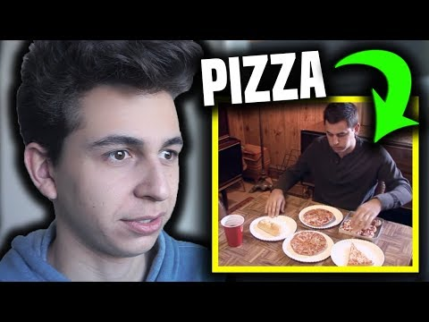 Man Addicted to PIZZA?!
