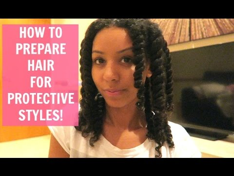 How To Prepare Natural Curly Hair For Box Braids