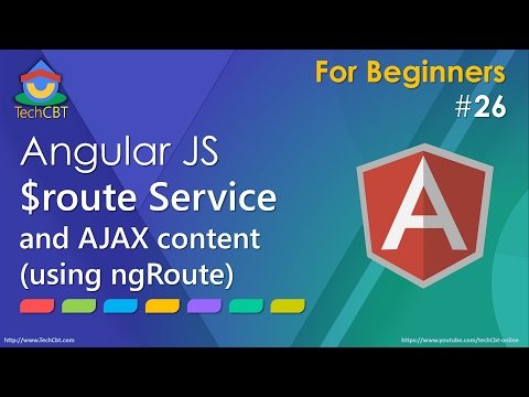 AngularJS Tutorial: $route Service and AJAX content (using ngRoute)