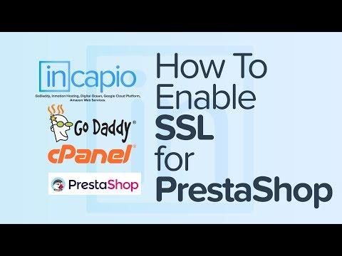 How to enable SSL for PrestaShop | cPanel | GoDaddy | 2018
