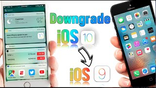 Downgrade Ios 10 Or 934 Down To Ios 932 933 Without Losing Any Of You