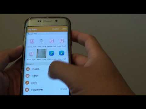 Samsung Galaxy S6 Edge: How to Delete Files in File Manager