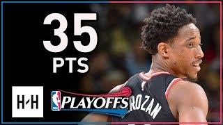 DeMar DeRozan Full Game 4 Highlights Raptors vs Wizards 2018 Playoffs - 35 Points!