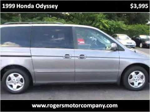 1999 Honda Odyssey Used Cars Asheville NC