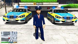 Mein KLEINER BRUDER wird POLIZIST in GTA 5 RP!