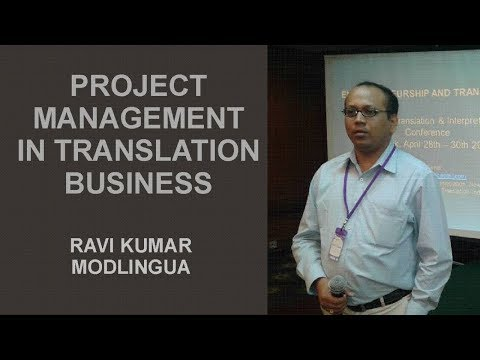 Project Management  in Service Industry including language and translation Business
