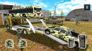 OffRoad US Army Transport Truck Simulator 2017 (by TimeDotTime) Android Gameplay [HD]