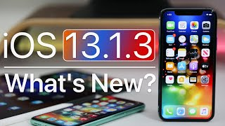 iOS 13.1.3 is Out! - What's New?