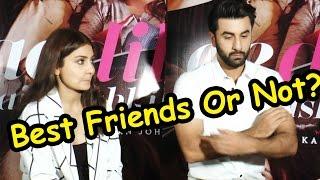 Best Friends or Not? Anushka Sharma And Ranbir Kapoor Tells All