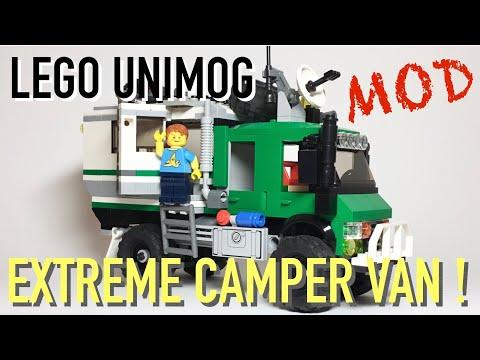 Lego 'Unimog' Extreme Camper Van (MOD)