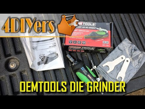 Review: OEMTOOLS 24404 Pneumatic Die Grinder