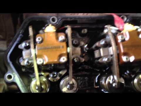 Ford 7.3 injector leak.