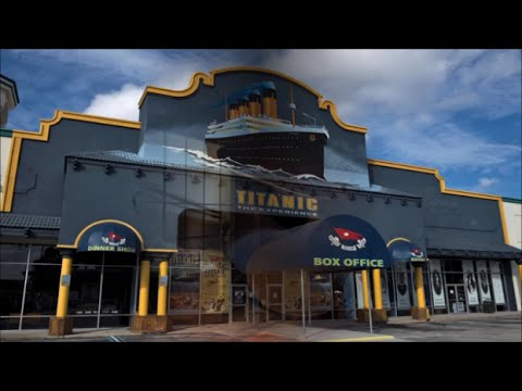 #Titanic The Experience International Drive, #Orlando, #Florida #idrive