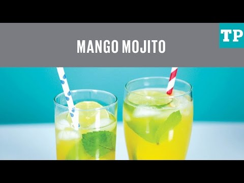 How to make Mango Mojitos for adults and kids