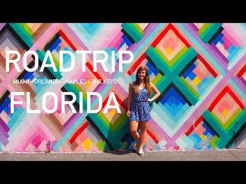 TRAVEL VLOG | Roadtrip Florida: Miami, Orlando, Naples & The Keys • Amerika