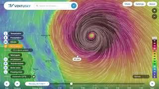 Hurricane IRMA will hit NC/SC HARD! #Catastrophic #Hurricane