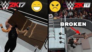 6 Things WWE 2K17 (Last Gen) Does Better Than WWE 2K18