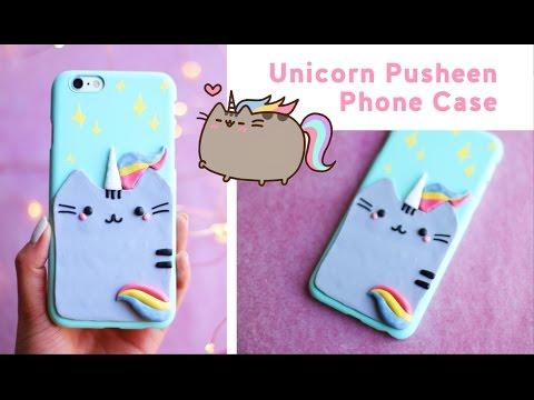 DIY Unicorn Pusheen Phone Case 🦄 ✨