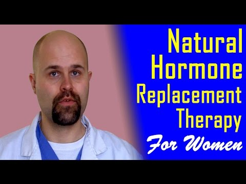 Natural Hormone Replacement Therapy for Women