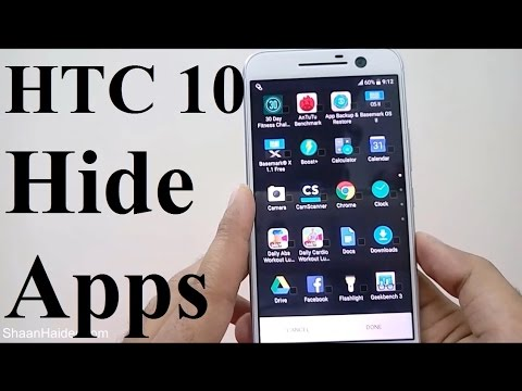 How to Hide Apps on HTC 10, One M8, A9, M9, M9+ or ANY HTC Smartphone