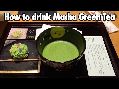 How to Drink Matcha Green Tea in Kyoto