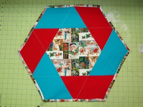 Hexagon Holiday Table Topper