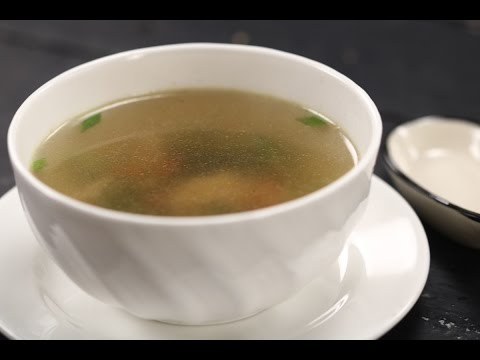 Clear Chicken Soup | Sanjeev Kapoor Khazana