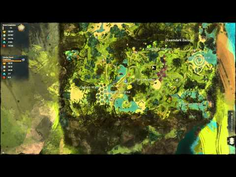 Guild Wars 2 - Caledon Forest - 100% Completion
