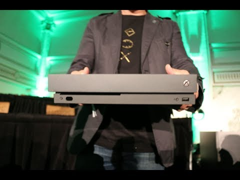 Major Nelson unveils the Xbox One X for the 1st time!