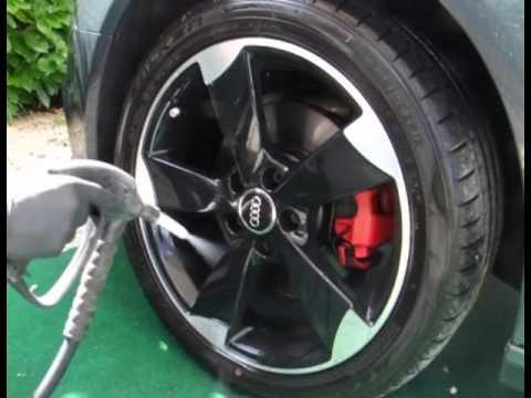 Detailing Audi A4 Film Auto Clean Eco
