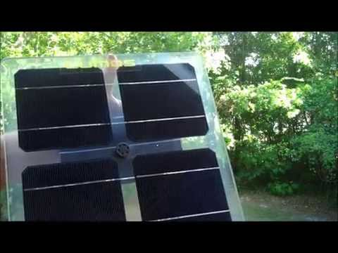 Clear Solar Panel Explanation and Examples - Bifacial Solar Panel Lumos and Sunpreme