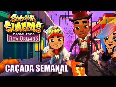 Subway Surfers New Orleans #1 - 5 Headstarts
