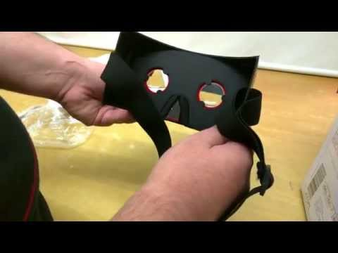 Google Cardboard LaserCut Replica Unboxing and Review INDIA