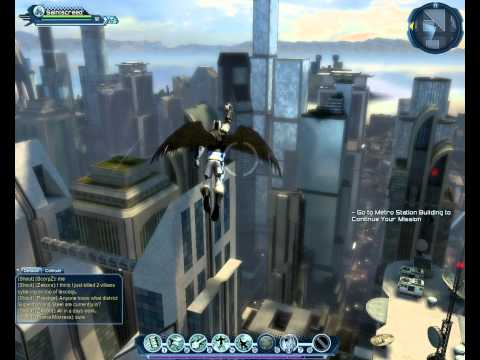 DC Universe Online Flight Movement