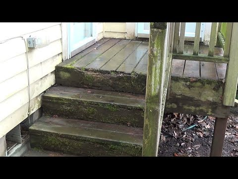 How to Repair and Old Rotten Deck