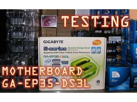Motherboard Gigabyte GA-EP35-DS3L LGA 775 ATX Chipset Intel P35 DDR2 TDP 135W Windows 10