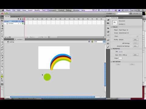 Masking Animation Technique - Adobe Flash
