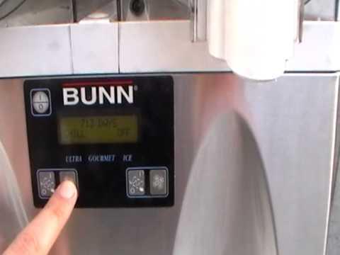 Bunn Frozen slush/drink Machine