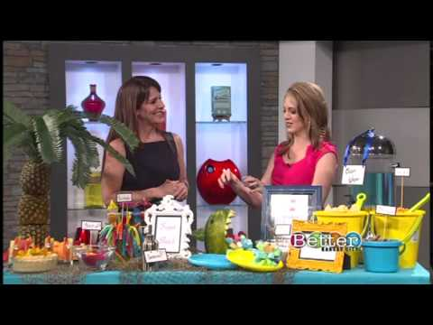 TAM STONE shares Creative & Easy Ideas for a Beach Style Pool Party (BETTER KC SHOW)